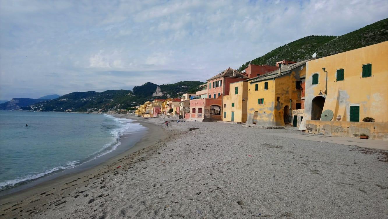Itinerario al mare nella Liguria di ponente